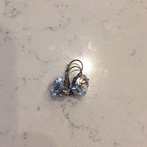 Sabika large crystal earrings